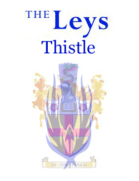 The Leys Thistle